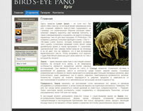 Design for blog of ploject Bird-eye Pano